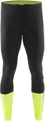 Craft hlače Brilliant 2.0 Thermal, črna /rumena