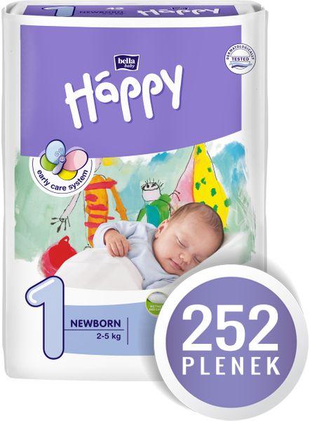 Bella Happy New Born - 252 ks
