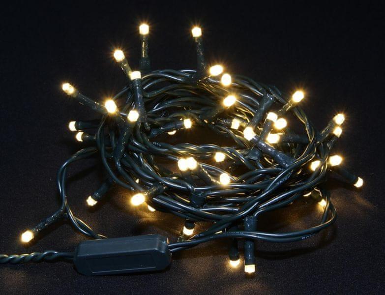 Seizis LED osvětlení 50 žárovek teplá bílá, 8 funkcí