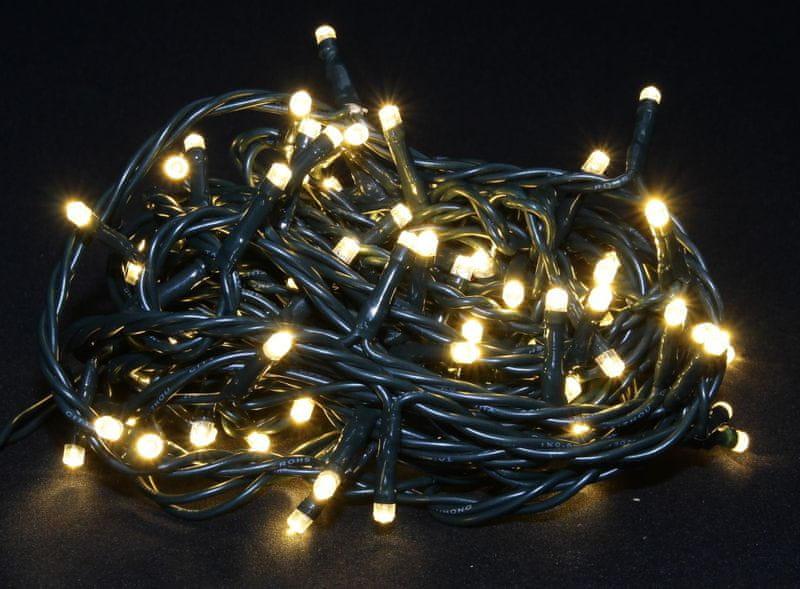Seizis LED osvětlení 100 žárovek teplá bílá, 8 funkcí - II. jakost