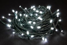 Seizis LED osvetlenie vonkajšie biele 100 žiaroviek