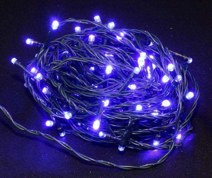 Seizis LED osvětlení venkovní modré 100 žárovek