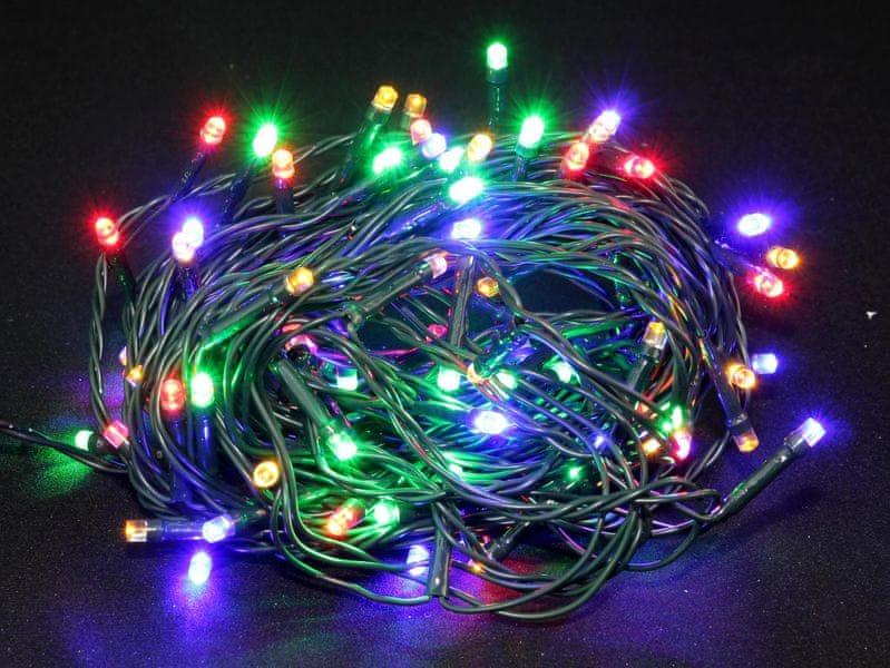 Seizis LED osvětlení venkovní barevné 100 žárovek