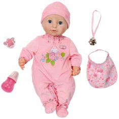 Baby Annabell Zapf Creation Interaktív baba kiegészítőkkel, 43 cm