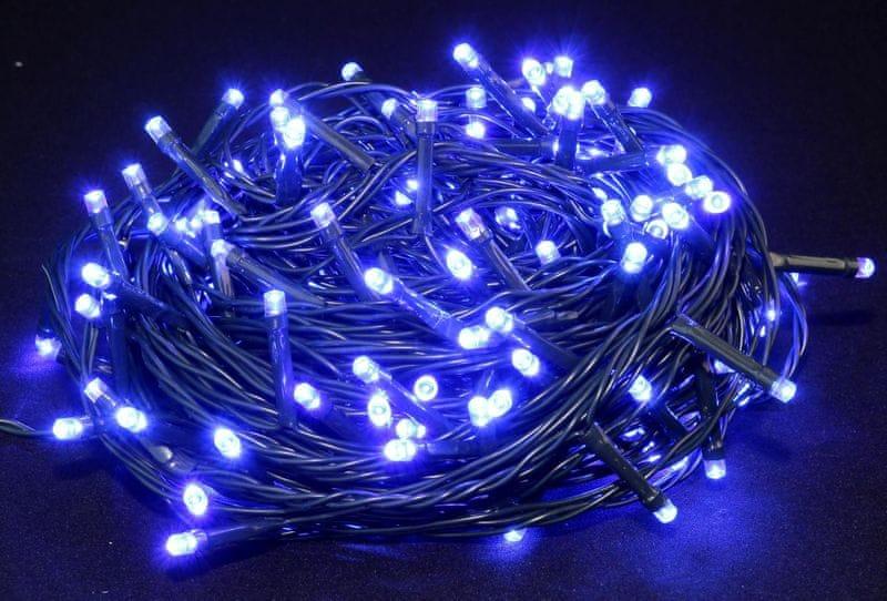 Seizis LED osvětlení venkovní modré 180 žárovek
