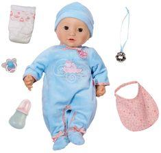 Baby Annabell Interaktív baba kiegészítőkkel, 43 cm