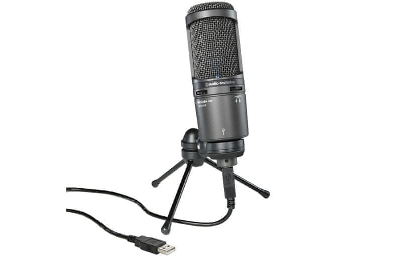 Audio-Technica AT2020USB+ USB kondenzátorový mikrofon