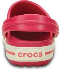 Crocs natikači Crocband Kids Raspberry White, otroški