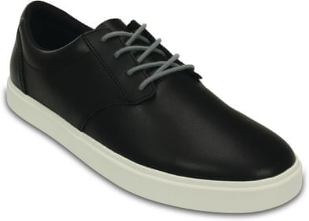 Crocs buty CitiLane Leather Lace-up M Black/White 46-47 (M12)