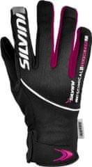 Silvini rokavice Ortles WA723, črna/magenta
