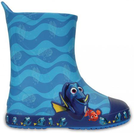 Crocs gumijasti škornji Bump It Finding Dory Ocean, otroški, 25-26
