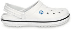 Crocs natikači Crocband, beli