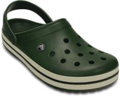 Crocs natikači Crocband Forest Green