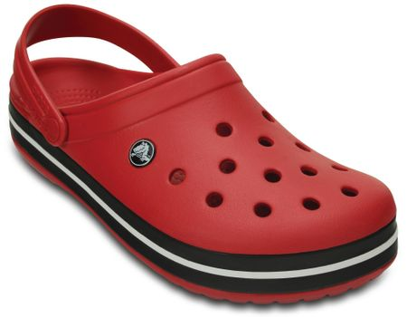 Crocs crocs natikači Crocband, rdeče-črni, 34-38