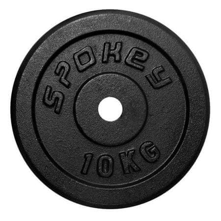 Spokey Sinis súlyzótárcsa, 10 kg
