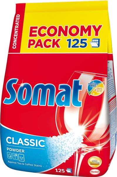 Somat Classic koncentrovaný prášek 2,5 kg, 125 mytí