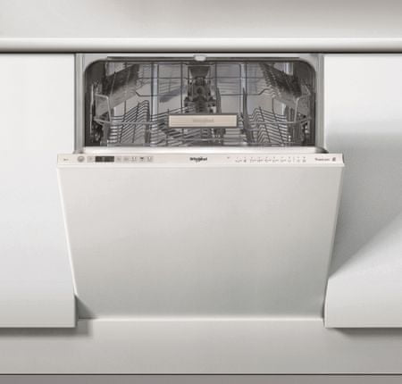 Whirlpool vgradni pomivalni stroj WIO 3T321 P, 60 cm