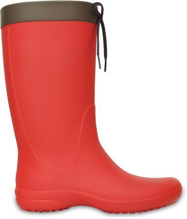 Crocs dežni škornji Crocs Freesail, rdeči, 36-37