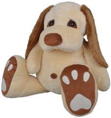 MÚ BRNO Pupík kutyus 120 cm, krémszínű