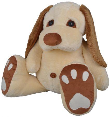 MÚ BRNO Pes Pupík 120cm, béžový