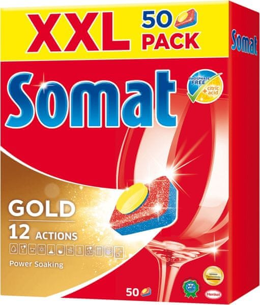Somat XXL Gold tablety 50 ks