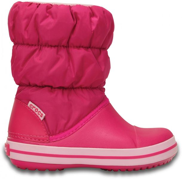 Crocs Winter Puff Boot Kids Candy Pink 34-35 (J3)