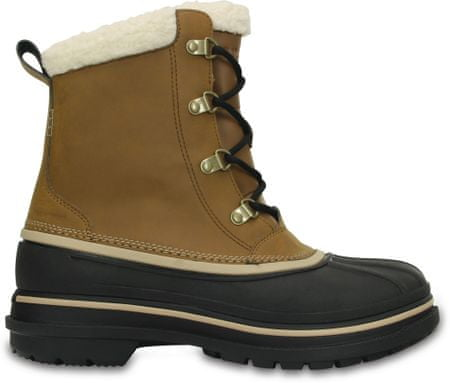Crocs Śniegowce AllCast II Boot M Wheat/Black 43-44 (M10)
