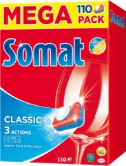 Somat Tabletki do zmywarki Mega Classic 110 tabletek