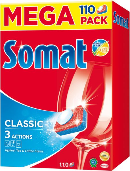 Somat Classic tablety do myčky 110 ks