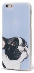 EPICO pružný plastový kryt, Apple iPhone 6/6S, DOGGIE