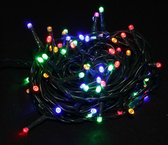 Seizis LED osvětlení měnící barvy 100 žárovek