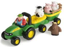 John Deere Traktor so zvieratkami