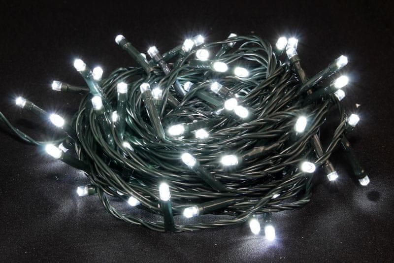 Seizis LED osvětlení venkovní blikající bílé 100 žárovek
