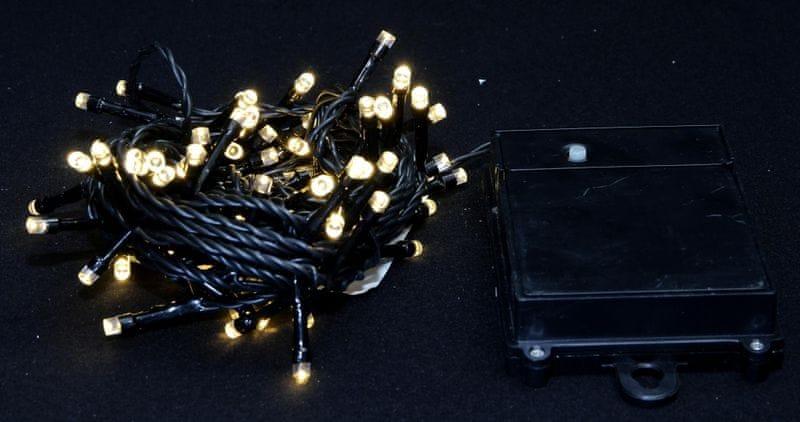 Seizis Osvětlení venkovní samozapínací teplá bílá 80 LED