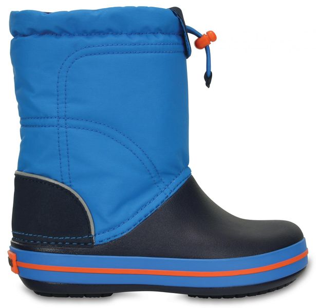 Crocs Crocband Lodge Point Boot Kids Ocean/Navy 32-33 (J1)