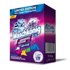 Waschkonig Proszek do prania Lavendel Frische Universal 7,5 kg, 100 Prań - Limitowana Edycja