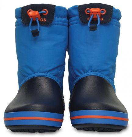 Crocs Crocband LodgePoint Boot Kids Ocean Navy 33 022a0442cd8