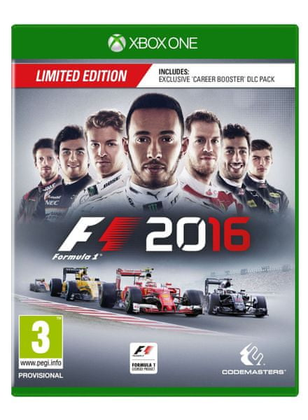 Codemasters F1 2016 Limited edition / Xbox One