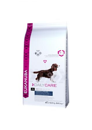 Eukanuba Daily Care Excess Weight hrana za pse, 12,5 kg