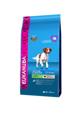 Eukanuba hrana za odrasle in starejše pse, jagnjetina, 12 kg