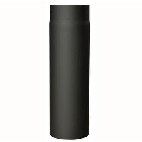 M.A.T Group rura kominkowa 120 mm / 500 mm gr. 1,5, czarna mm