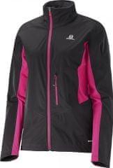 Salomon ženska softshell jakna Lightning, rjava/roza