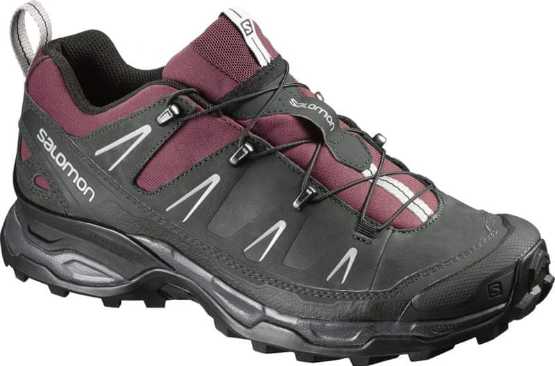 Salomon X Ultra Ltr W Bordeaux/Asphalt/Steel Grey 39.3