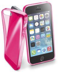 CellularLine FLUO Apple iPhone 5/5S/SE Szilikontok, Rózsaszín