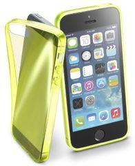 CellularLine FLUO iPhone 5/5S/SE Szilikontok, Sárga