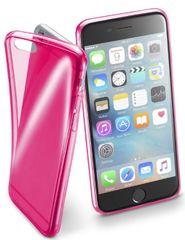 CellularLine FLUO Apple iPhone 6/6S Szilikontok, Rózsaszín