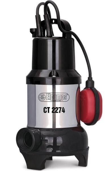Elpumps CT 2274 - Univerzální ponorné kalové čerpadlo