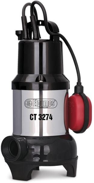 Elpumps CT 3274 Univerzální ponorné kalové čerpadlo