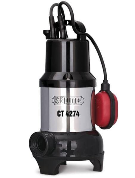 Elpumps CT 4274 - univerzální ponorné kalové čerpadlo