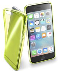 CellularLine FLUO Apple iPhone 6/6S Szilikontok, Sárga
